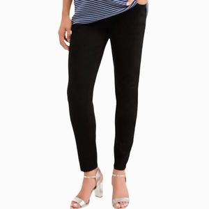 NWT MATERNITY TIME AND TRU BLACK SKINNY JEANS